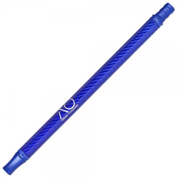 AO Alu-Carbonmundstück Blau