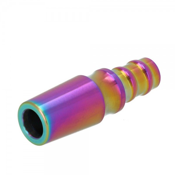 Schlauchanschluss Nibiru Edelstahl Rainbow
