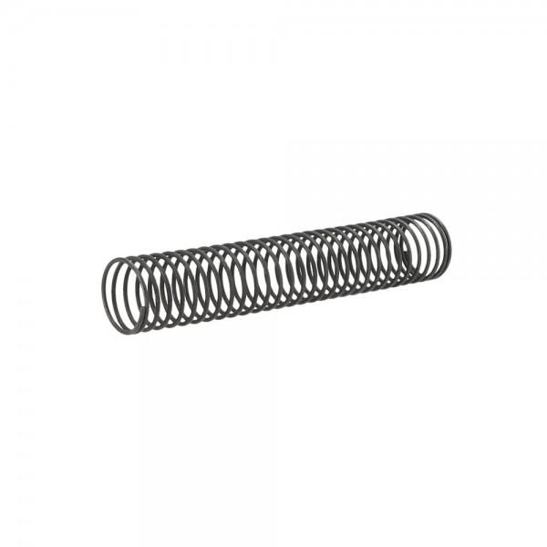Schlauchfeder Gun Metal 10 cm