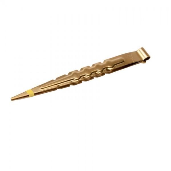 Zange 22cm Gold mit Lochstecher