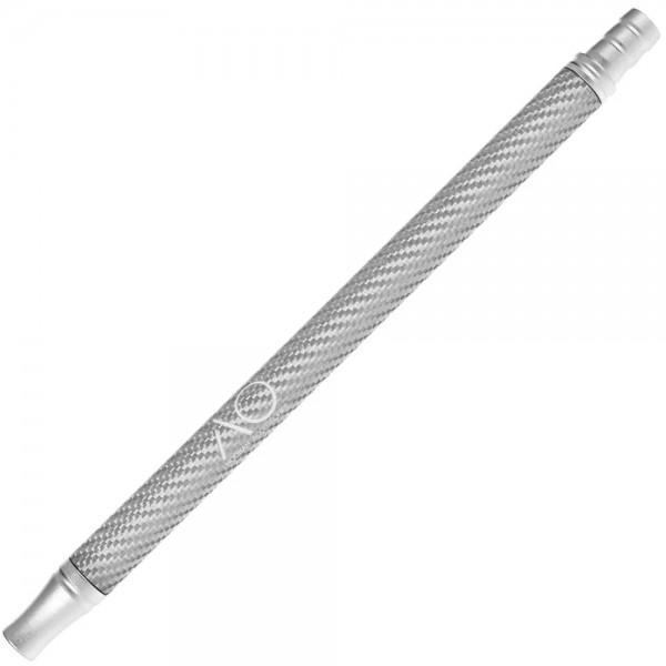 AO Alu- Carbonmundstück Silber