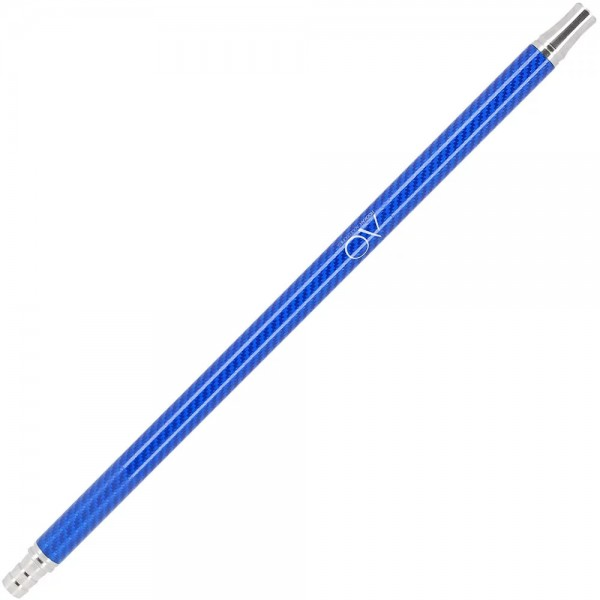AO Carbon Edelstahl Mundstück Blau