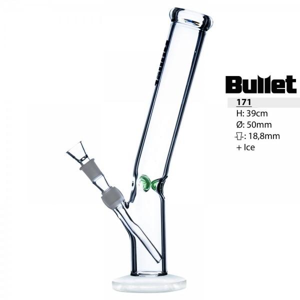 Bullet Heavy 39cm gebogene Zilynder Ø:50mm 18,8mm
