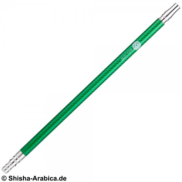 Carbon Mundstück Edelstahl V2A Green